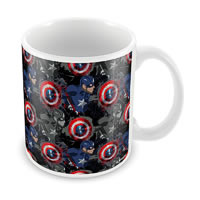 Marvel Civil War - Captain Design Ceramic Mug