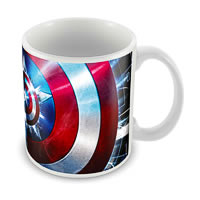 Marvel Captain America Marvel Ceramic Mug