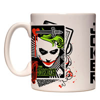 Warner Brothers Joker 'Let's Put a Smile on That Face' Mug