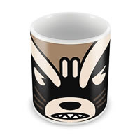 Marvel Rocket Raccoon - Kawaii Art Ceramic Mug
