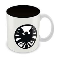 Marvel Kawaii Shield Ceramic Mug