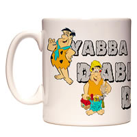 Warner Brothers The Flintstones - Yabba Dabba Doo Mug