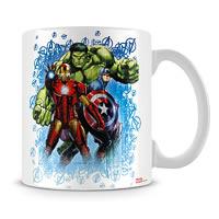 Marvel Assemble - Hulk Iron Man Ceramic Mug