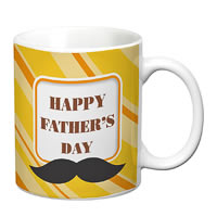 Prithish Happy Father's Day Design 2 White Mug