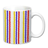 Prithish Abstract Design 9 White Mug
