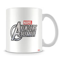 Marvel Avengers Assemble - Colors Ceramic Mug