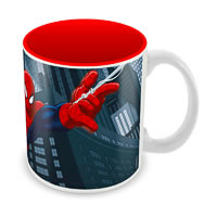 Marvel Spider-Man Fly Ceramic Mug