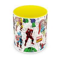 Marvel Comics All Characters Ceramic Mug