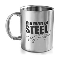 Hot Muggs Man of Steel My Papa, Mug