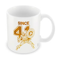 Marvel Captain America Since 41 Ceramic Mug