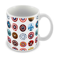 Marvel First Avenger Captain America Ceramic Mug