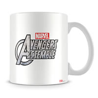 Marvel Assemble Cast in Action Ceramic Mug