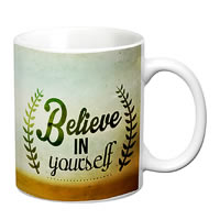 Prithish Believe In Yourself White Mug