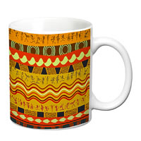 Prithish Egyptian Design 1 White Mug