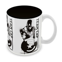 Marvel Civil War - Team Cap Ceramic Mug