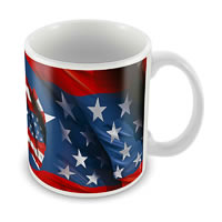 Marvel Captain America 75 Years New Ceramic Mug