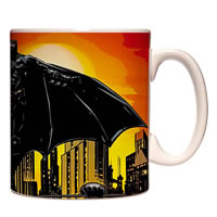 Warner Brothers Batman In Gotham City Mug