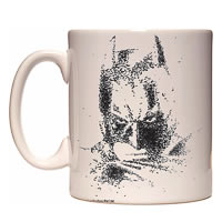 Warner Brothers Dark Knight Batman Sketch Mug