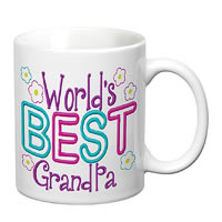 Prithish World's Best Grandpa White Mug