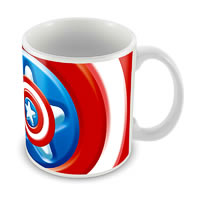 Marvel Avenger Captain America - 75 Years Ceramic Mug