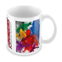 Marvel Avengers Colored Ceramic Mug