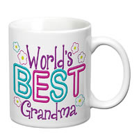 Prithish World's Best Grandma White Mug