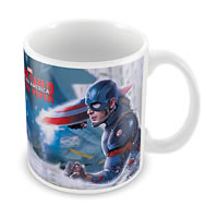 Marvel Civil War - Iron Man Ceramic Mug