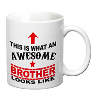 Prithish Awesome Brother White Mug