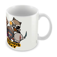 Marvel Guardians of the Galaxy - Kawaii Ceramic Mug