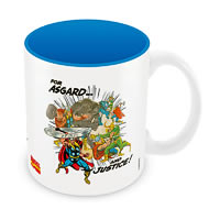 Marvel Comics Asgard and Justice Ceramic Mug
