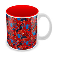 Marvel Spider-Man Red Collage Ceramic Mug