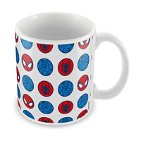 Marvel Spider-Man Face Art Ceramic Mug