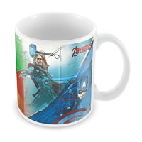 Marvel Avengers - Colors Ceramic Mug