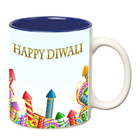 Prithish Diwali Design 7 Double Color Mug