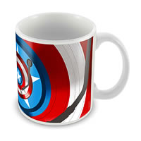 Marvel Captain America - First 75 Years Ceramic Mug