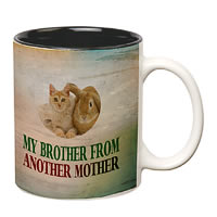Prithish My Brother From Another Mother White Mug