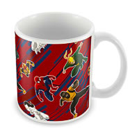 Marvel Ultimate Spider-Man Cast Ceramic Mug