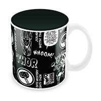 Marvel Comics Thor Asgard Ceramic Mug