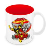 Marvel Comics Team Ceramic Mug