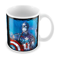 Marvel Captain America Graphic Ceramic Mug