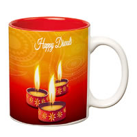 Prithish Diwali Design 5 Double Color Mug