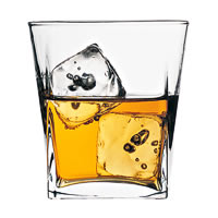 Pasabahce Carre Whisky Glass, 310 ml - set of 6