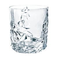 Nachtmann Sculpture Lead Crystal Whisky Tumbler (DOF), 365 ml - set of 6