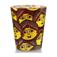 Kolorobia Madhubani Revival Shot Glass, 30 ml - set of 2
