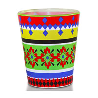 Kolorobia Color Fusion Shot Glass, 30 ml - set of 2