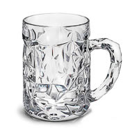 Nachtmann Cut Beer Mug, 525 ml