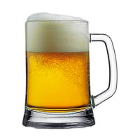 Pasabahce Pub Tempo Beer Mug, 660 ml - set of 2