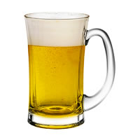 Ocean Lugano Beer Mug, 330 ml - set of 6