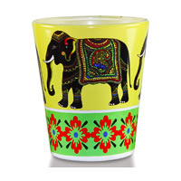 Kolorobia Majestic Elephant Shot glass, 30 ml - set of 2