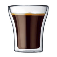 Bodum Assam Double Wall Glass, Small 200 ml - set of 2
